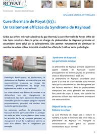 Royat - Dossier sur la maladie de Raynaud