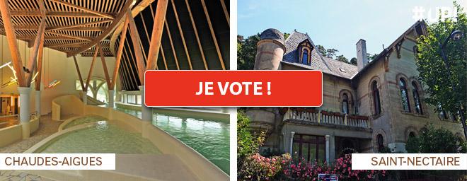 Votez pour Saint-Nectaire et Chaudes-Aigues
